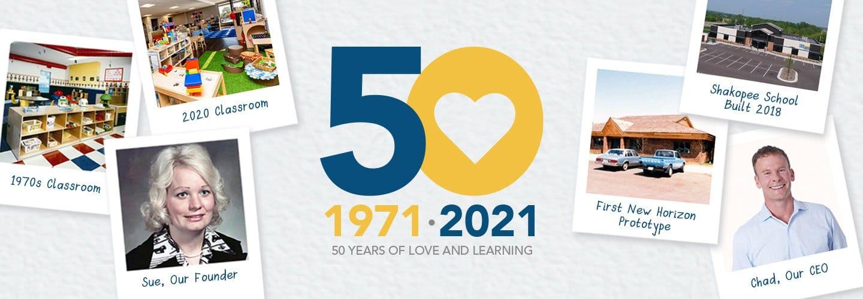 Celebrating New Horizon Academy's 50th Anniversary